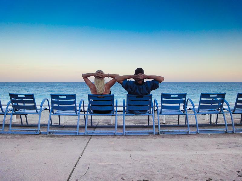 The Promenade Des Anglais, Nice, South Of France