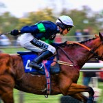 Oxford Photography - Stratford Races - Jockey at full speed