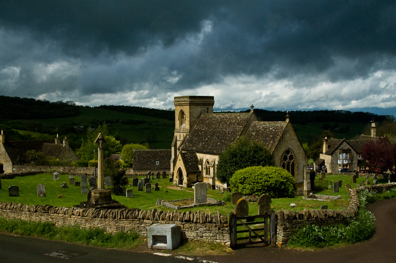 Snowshill Church in the Cotswolds, Oxfordshire