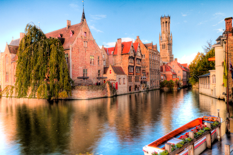 The Picture Postcard compulsory shot from Brugge in Belgium