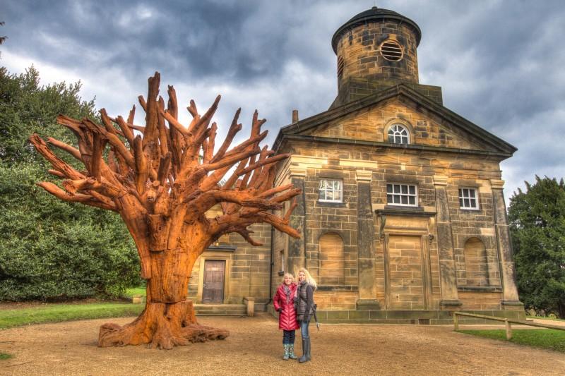 Ai Weiwei Iron Tree Yorkshire Sculpture Park Chapel